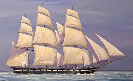 Texas Navy schooner Austin