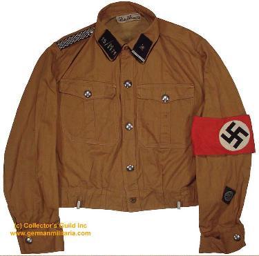 Pre 1936 SA brownshirt, NSKK (motor corp)