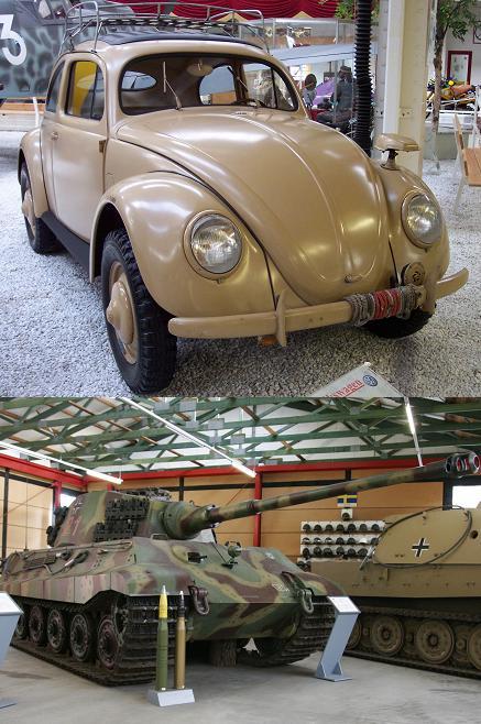 Two Ferdinand Porsche designs
